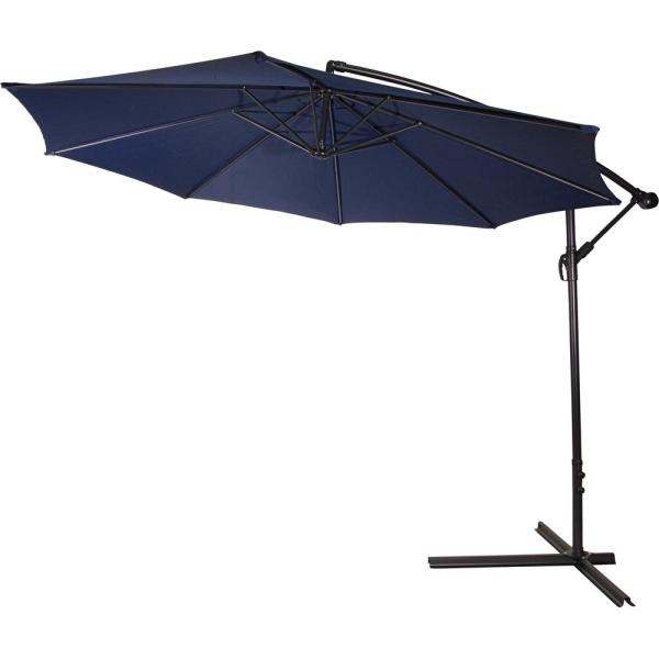 Trademark Innovations 10 Ft. Deluxe Cantilever Polyester
