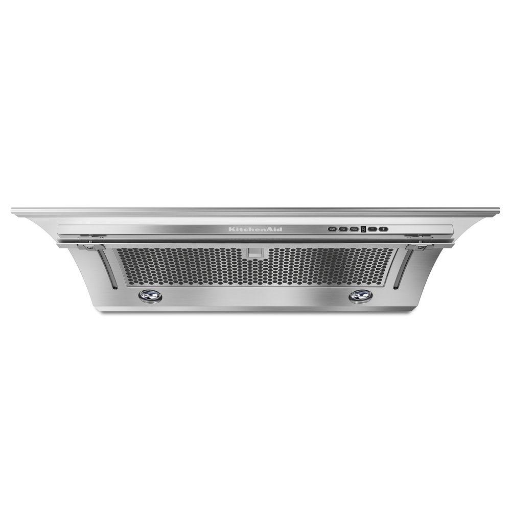 kitchen air copper pendant lights kitchenaid 30 in convertible slide out range hood stainless steel