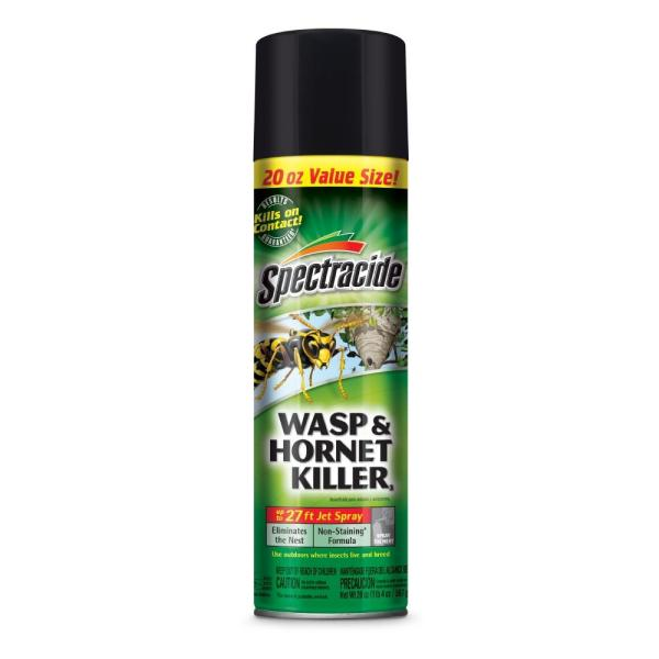Spectracide 20 Oz. Wasp And Hornet Aerosol Spray Killer-hg