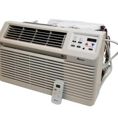 amana 9 300 btu 115 volt through the wall air conditioner with remote [ 1000 x 1000 Pixel ]