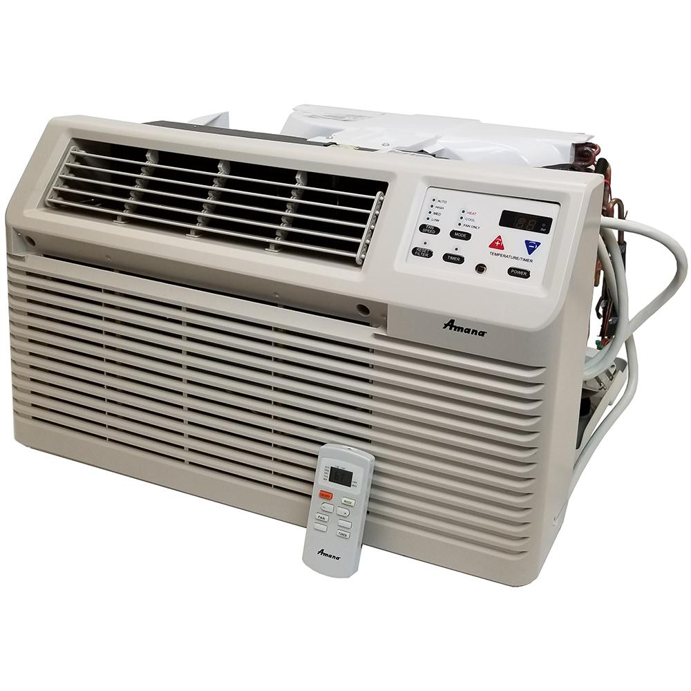 medium resolution of amana 9 300 btu 115 volt through the wall air conditioner with remote