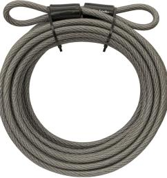 master lock 70d 30 ft braided steel cable with looped ends and 3 8 in [ 1000 x 1000 Pixel ]