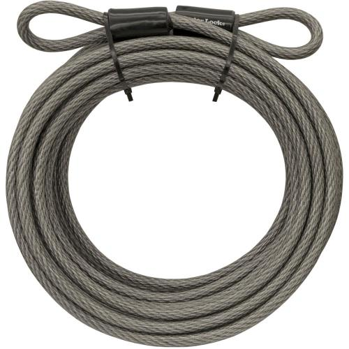 small resolution of master lock 70d 30 ft braided steel cable with looped ends and 3 8 in