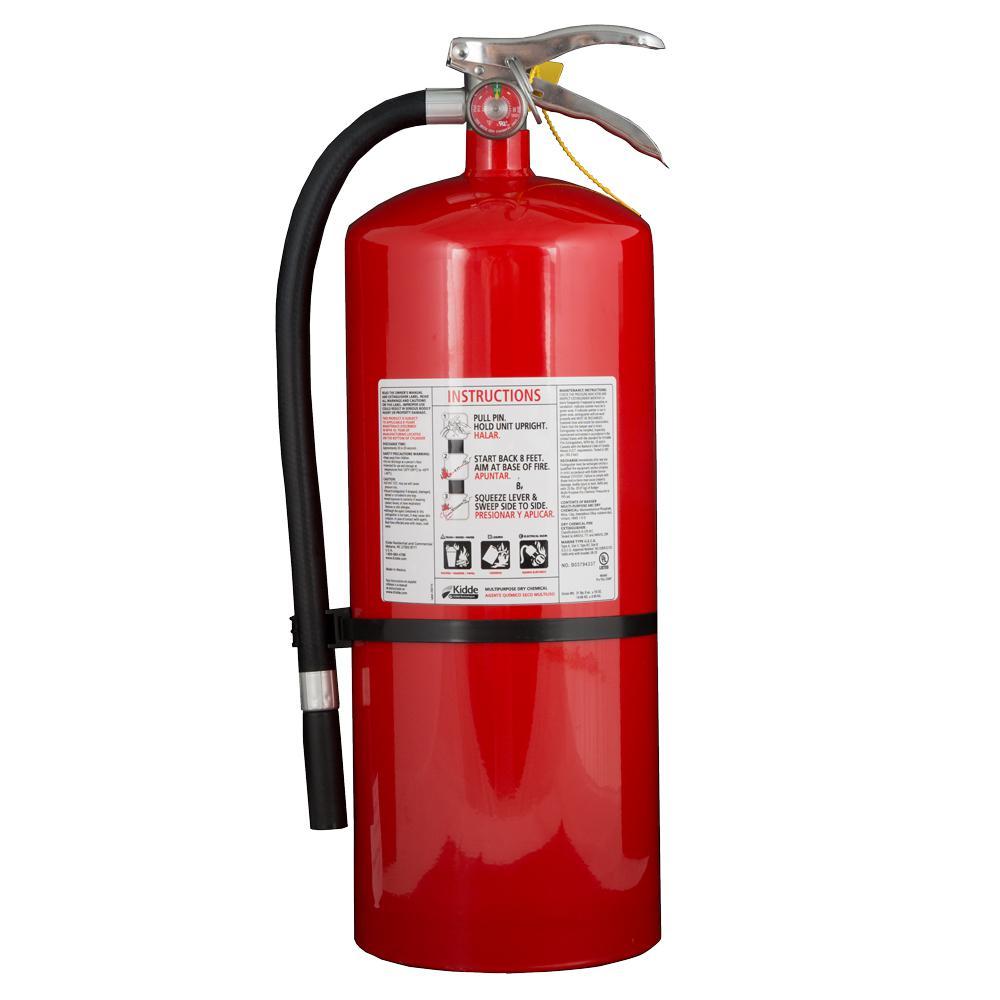 kidde kitchen fire extinguisher hgtv design mounting bracket extinguishers safety the home depot pro