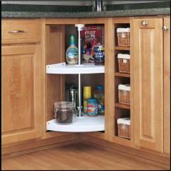 Kitchen Lazy Susan Build Your Own Island Corner Cabinet Storage Organizer Pantry 24 In 2