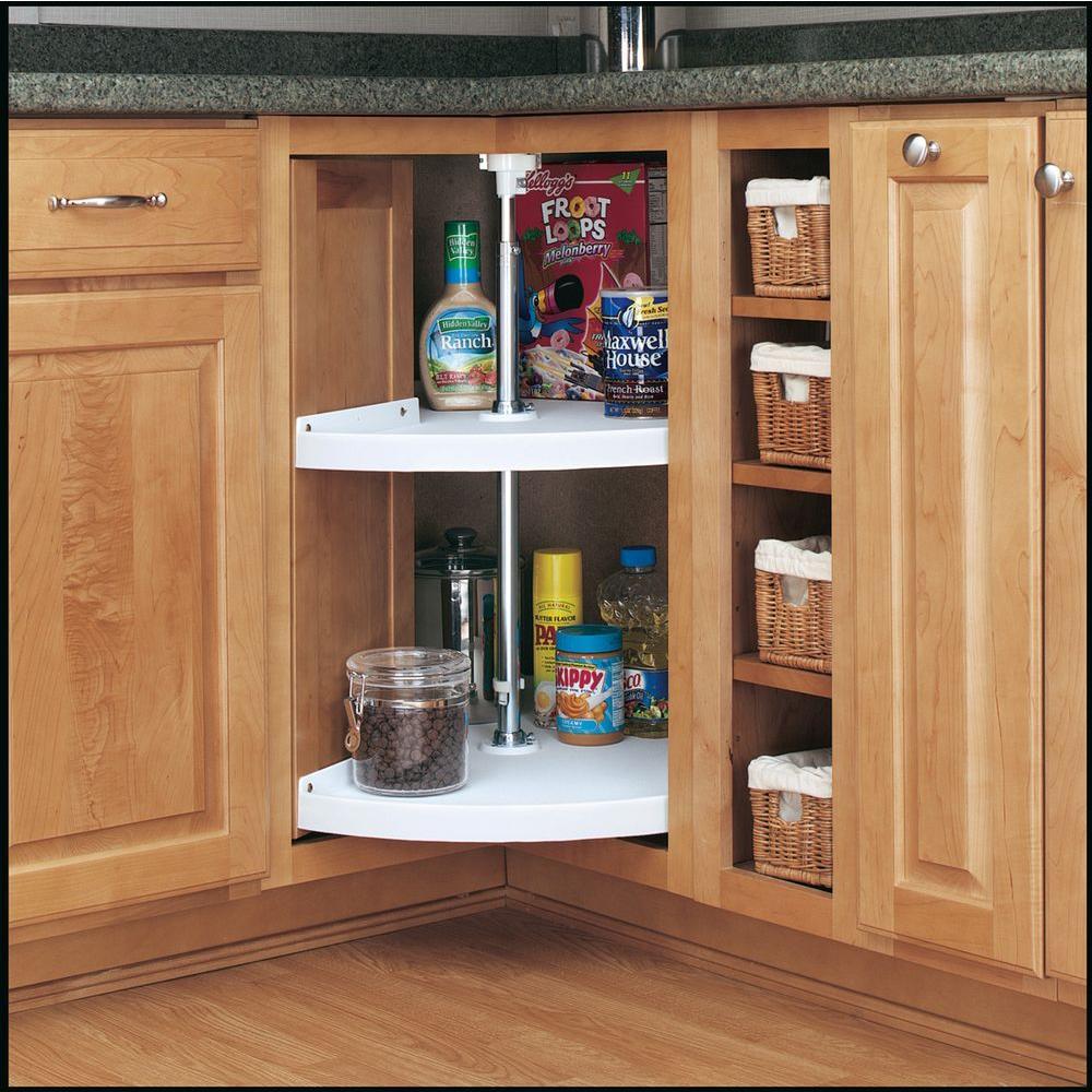 kitchen cabinet storage organizers install cabinets corner organizer lazy susan pantry 24 in 2