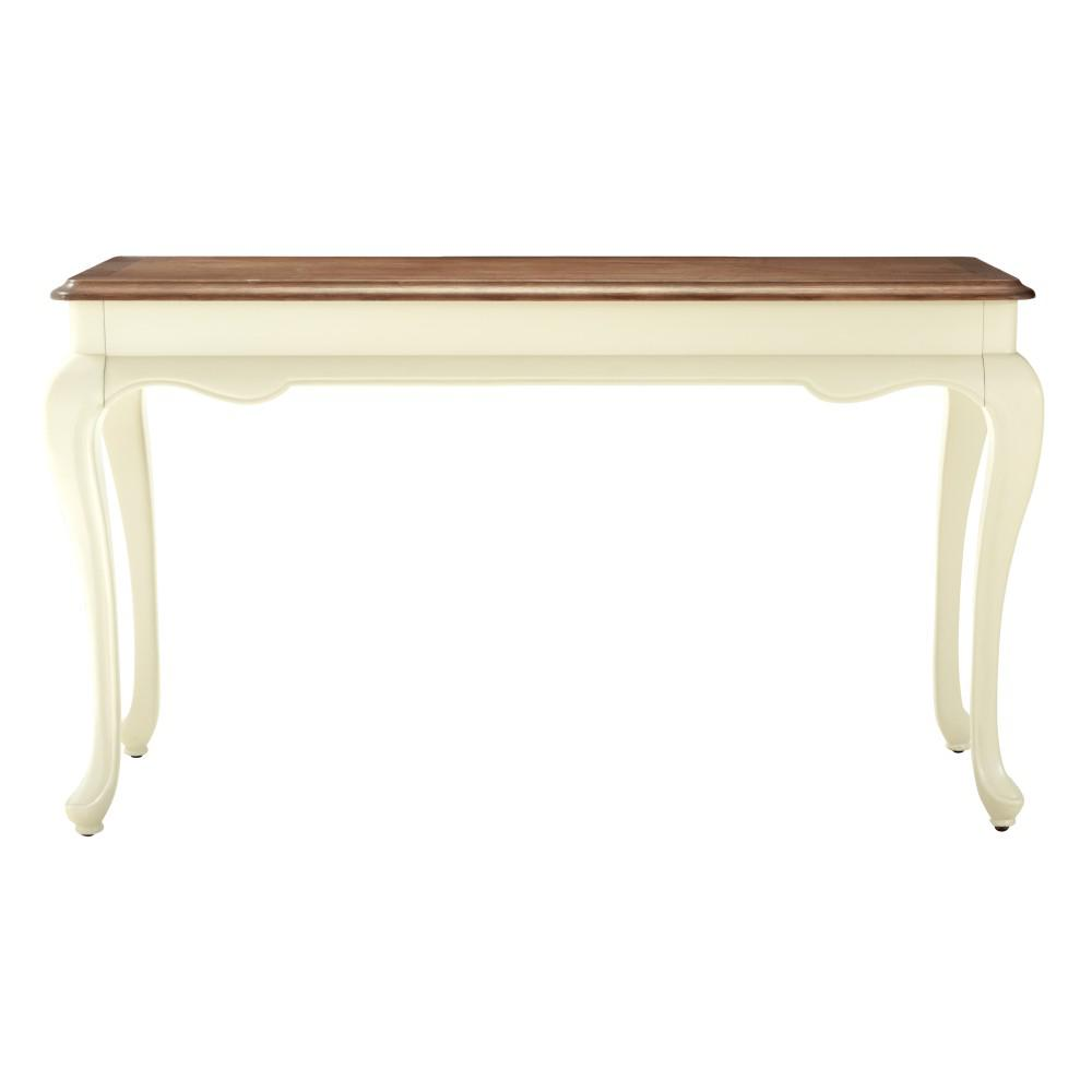 how to make a sofa table top milan macys home decorators collection provence ivory console with ash grey
