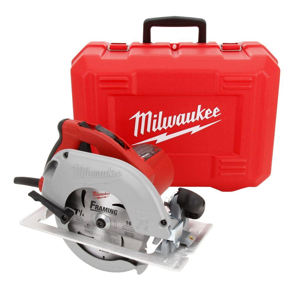 medium resolution of milwaukee 15 amp 7 1 4 in tilt lok circular saw with