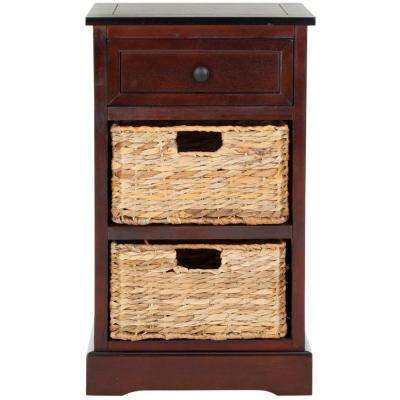 mahogany side tables living room theater ideas end table accent furniture the carrie dark cherry storage