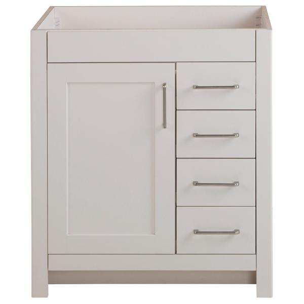 Home Decorators Collection Westcourt 30 In W X 21 In D Bathroom Vanity Cabinet Only In Cream Wt30 Cr The Home Depot