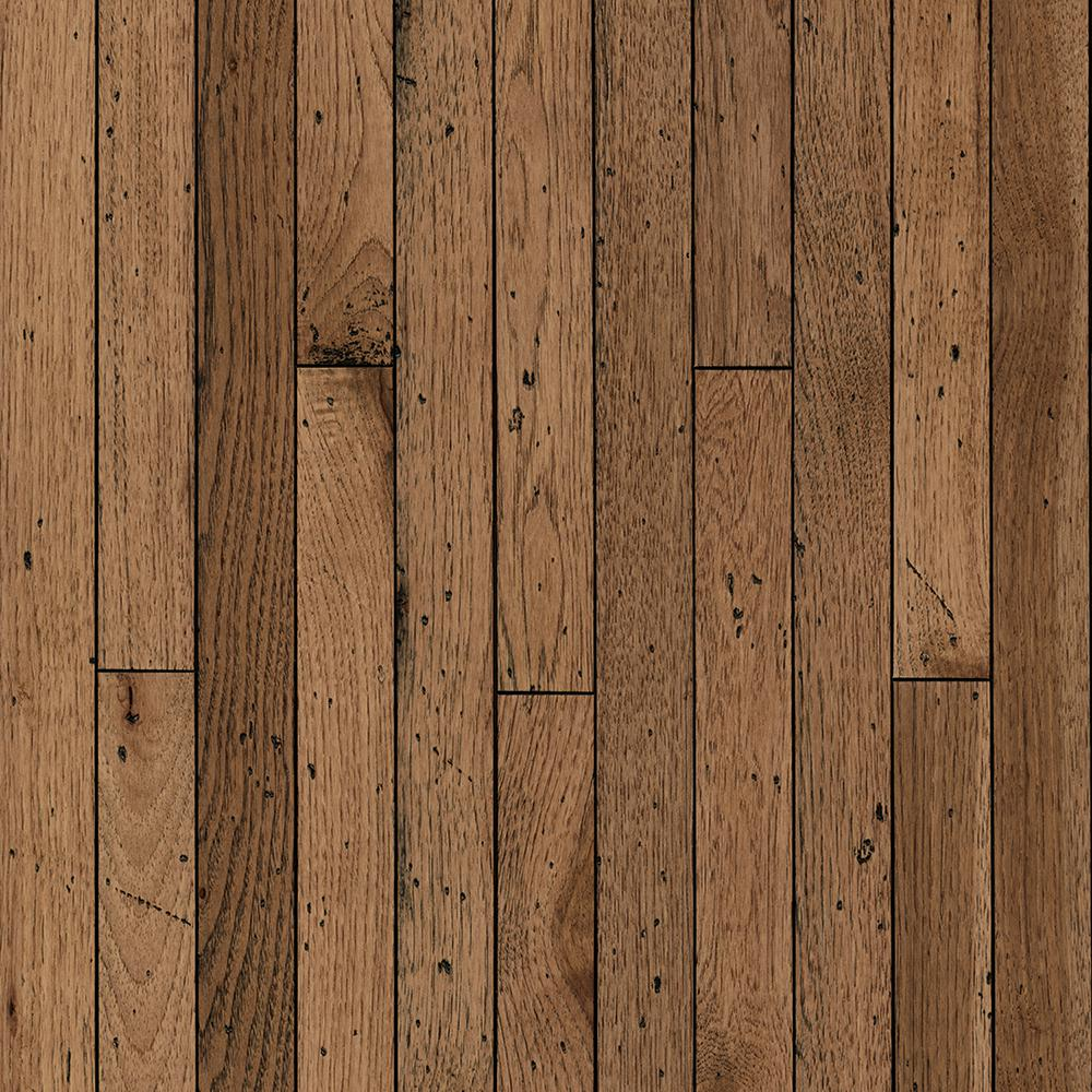 Bruce Vintage Farm Hickory Antique Timbers 3/4 in. x 2