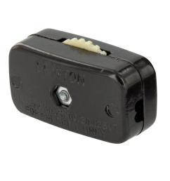 leviton 6 amp mini thumb wheel cord switch brown [ 1000 x 1000 Pixel ]