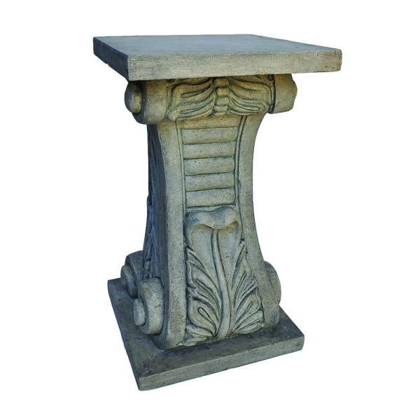Mpg 24 In. Granite Cast Stone Classic Pedestal-pf7439sag