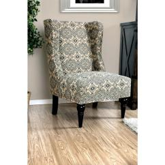 Accent Chairs Gray Pattern Office With Footrest Elche Chair Tan Cm Ac6182a The Home Depot