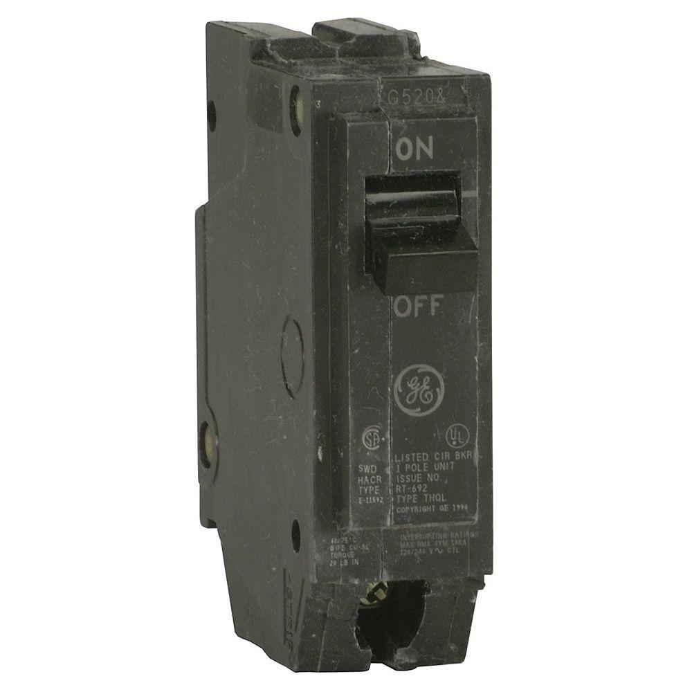medium resolution of ge q line 20 amp 1 in single pole circuit breaker