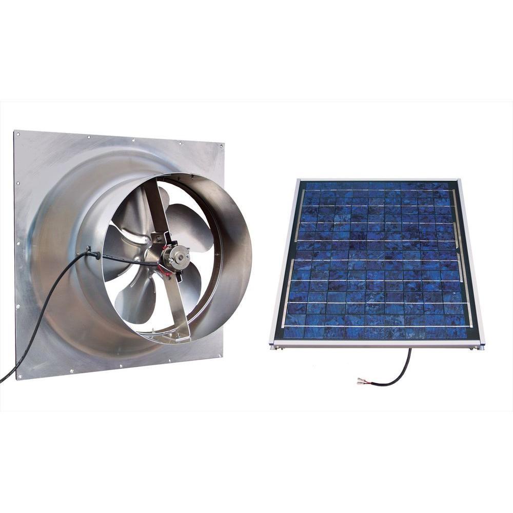 Attic Fan Solar Powered Natashamillerweb