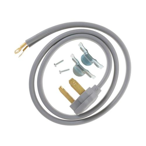 small resolution of ge 4 ft 3 prong 30 amp dryer cord wx09x10002ds the home depot wiring diagram 40 amp 3 prong plug