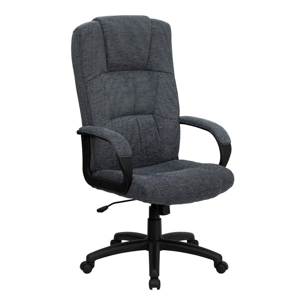 office chair fabric extra large tub chairs flash furniture high back navy blue executive swivel this review is from gray