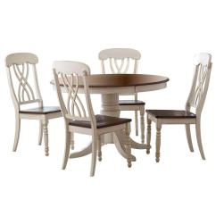 Dining Table And Chair Sets Yellow Kitchen Room Furniture The Home Depot