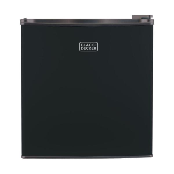 Black Decker 1.7 Cu. Ft. Mini Refrigerator In Black-bcrk17b - Home Depot