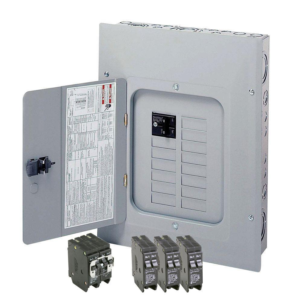 medium resolution of eaton br 125 amp 12 space 24 circuit indoor main breaker loadcenter with cover