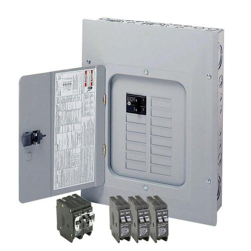 small resolution of eaton br 125 amp 12 space 24 circuit indoor main breaker loadcenter with cover