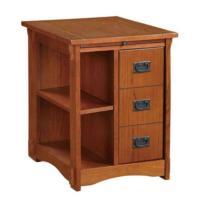 Home Decorators Collection Mission Oak Storage Cabinet ...