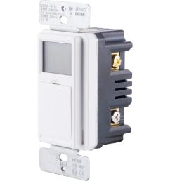 defiant 15 amp in wall 3 way daylight adjusting digital timer switch with screw [ 1000 x 1000 Pixel ]