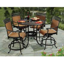 Sunjoy Seabrook 5-piece Patio High Dining Set-l-dn899sal