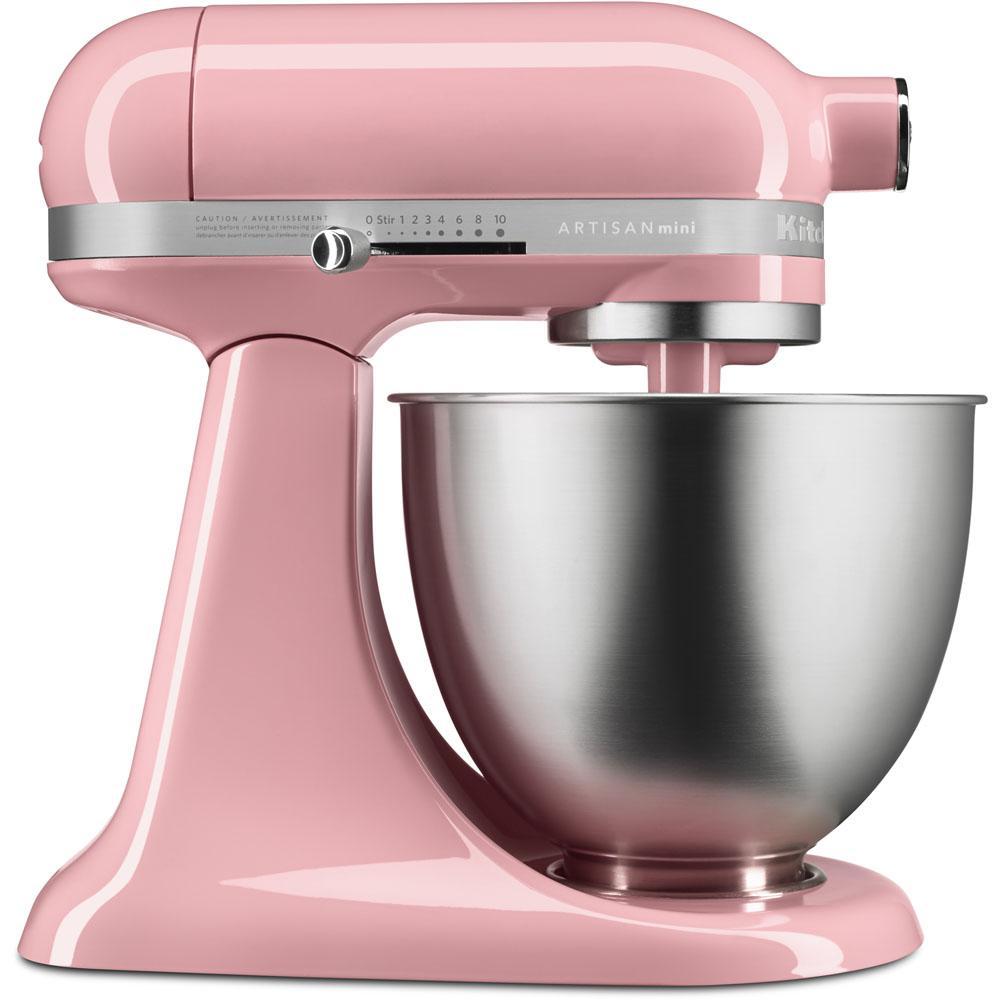 kitchen aid mixers timer kitchenaid artisan mini 3 5 qt tilt head guava glaze stand mixer