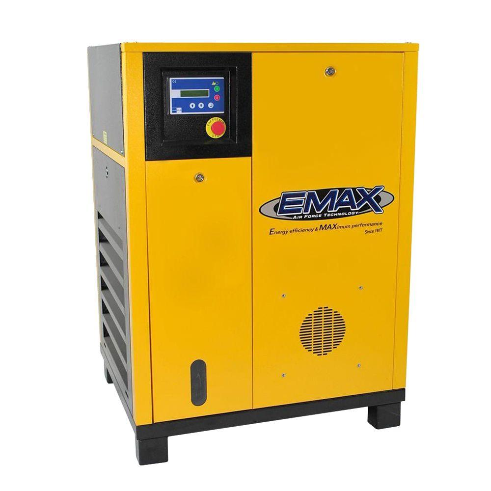hight resolution of premium series 15 hp 208 volt 3 phase stationary electric variable speed rotary