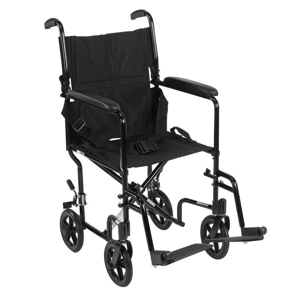 drive wheel chair lucia rattan kmart white lightweight transport wheelchair in black atc19 bk the home