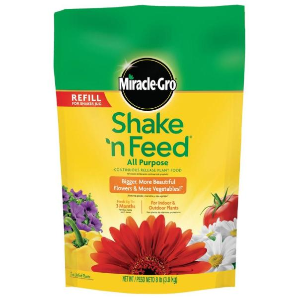 Miracle-gro Shake ' Feed 8 Lb. Purpose Continuous