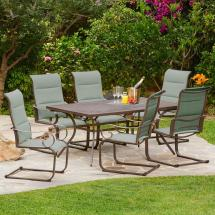 Royal Garden Spring Hill 7-piece Sling Outdoor Dining Set