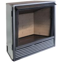 ProCom 36.38 in. Vent-Free Dual Fuel Fireplace Insert ...