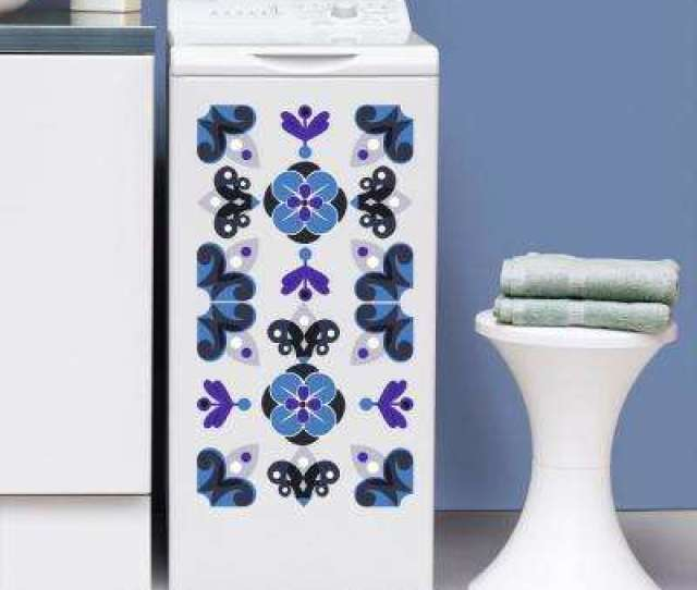 Indigo Adhesive Wall Decal