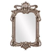 Global Direct 20 in. x 20 in. Antique Silver Square Framed ...