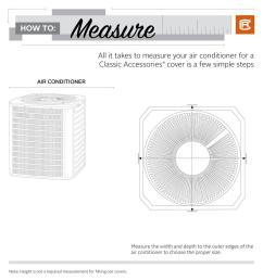 classic accessories 36 in l x 36 in w x 28 in h mesh air air conditioning accessories diagram [ 1000 x 1000 Pixel ]