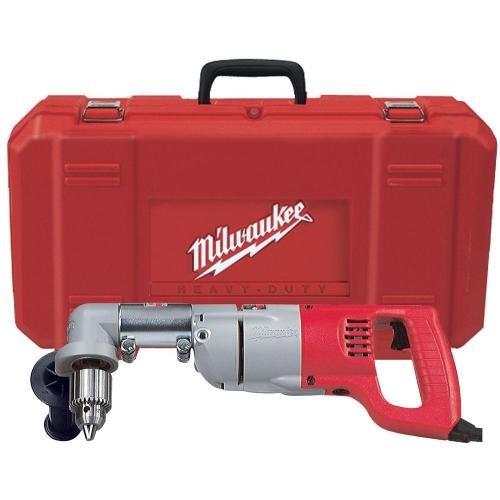 small resolution of milwaukee 7 amp corded 1 2 in corded right angle drill kit with
