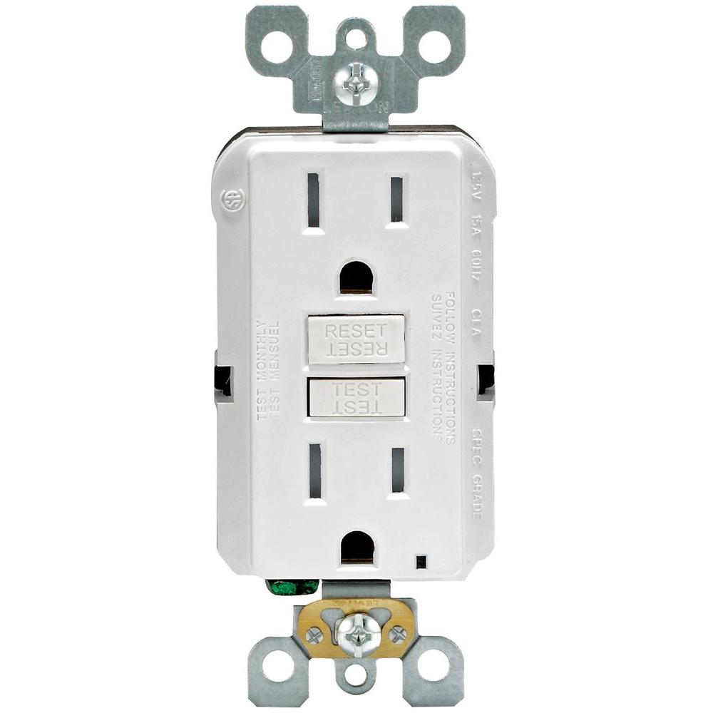 medium resolution of leviton 20 amp self test smartlockpro slim duplex gfci outlet white r12 gfnt2 0rw the home depot