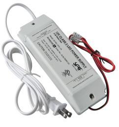 armacost lighting 60 watt 12 volt dc led lighting power supply [ 1000 x 1000 Pixel ]