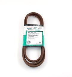 mtd genuine factory parts 42 in deck belt for mtd lawn tractors 2006 and after [ 1000 x 1000 Pixel ]