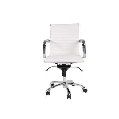 desk chairs white leather rocking chair recliner office home furniture the depot delancey