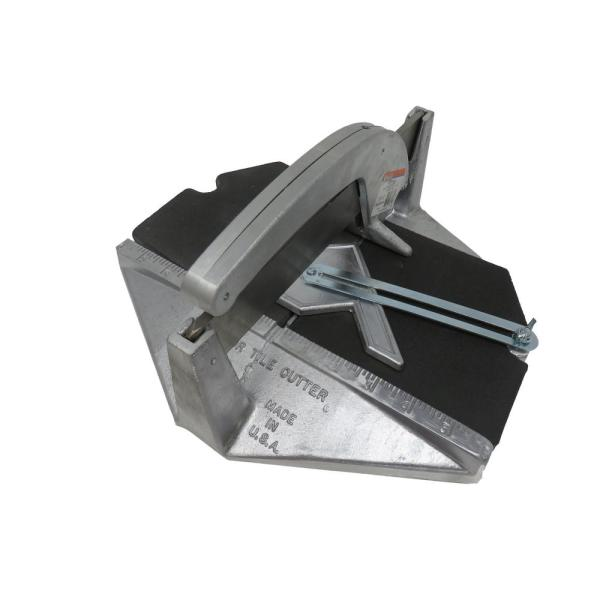 Medium Tile Cutter 12 In. X With #400 Carbide Wheel
