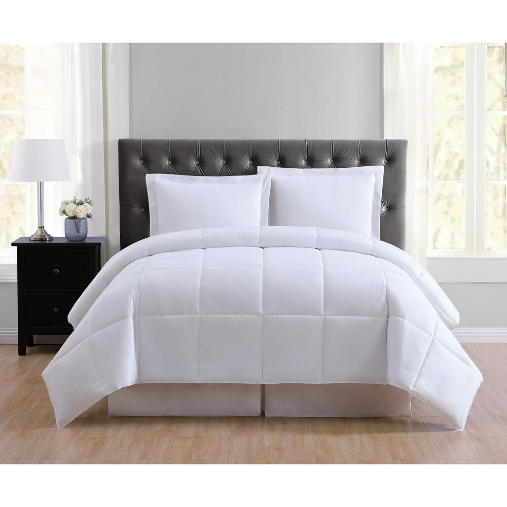 truly soft everyday 3 piece white king comforter set cs1656wtkg 17 the home depot