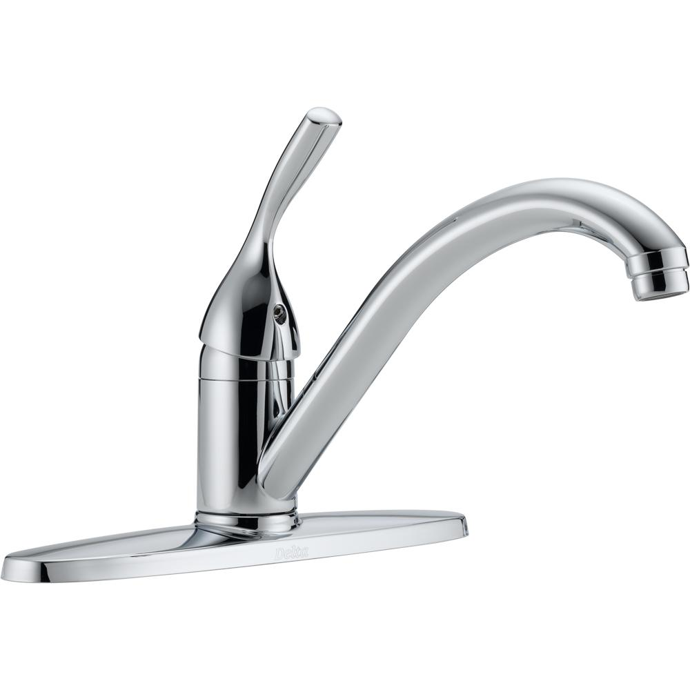 delta single handle kitchen faucet repair classic standard in chrome 100