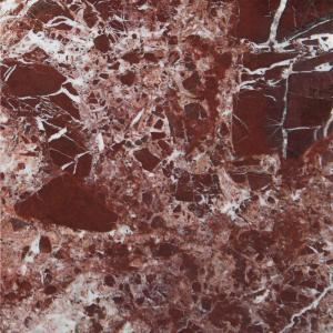 MSI Rosso Levanto 12 inx 12 in Polished Marble Floor and