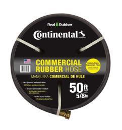 premium 5 8 in dia x 50 ft commercial grade rubber black water [ 1000 x 1000 Pixel ]