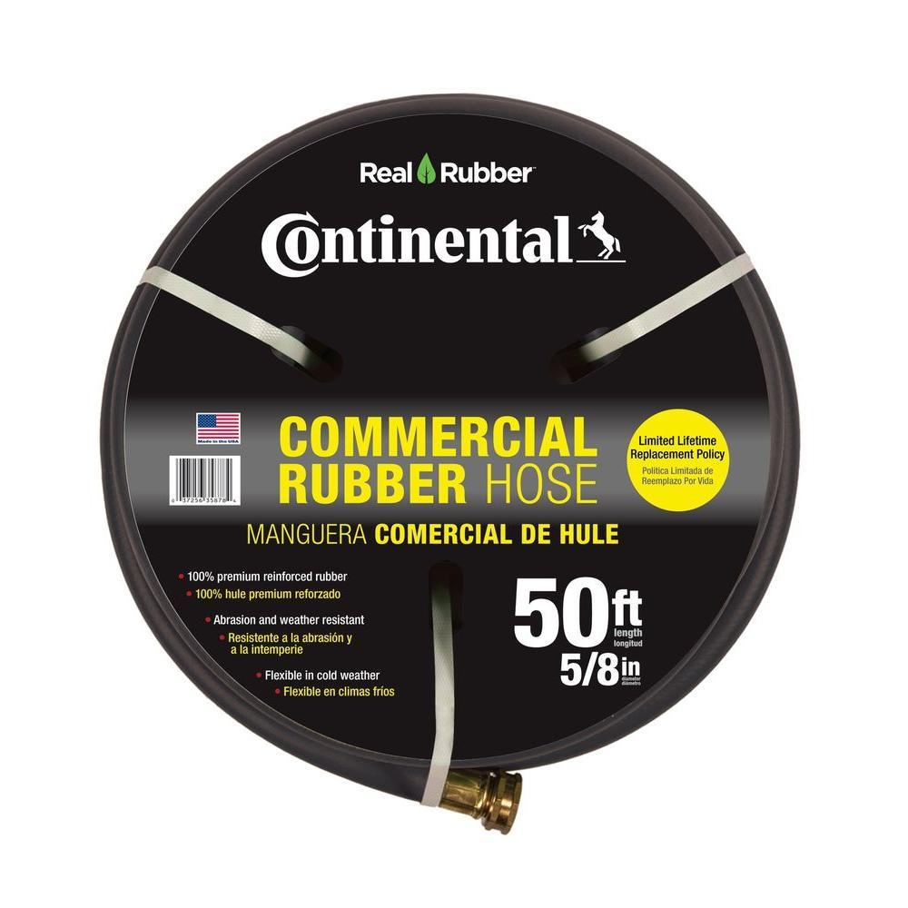 medium resolution of premium 5 8 in dia x 50 ft commercial grade rubber black water