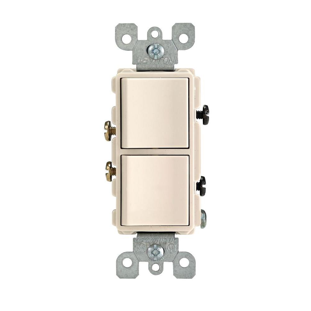 Single Pole Dual Switch On Wiring Diagram For Leviton 3 Way Switch